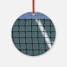 tennis Round Ornament
