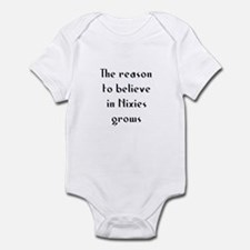 The reason to believe in Nixi Infant Bodysuit