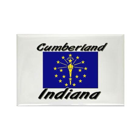 Cumberland Indiana Rectangle Magnet