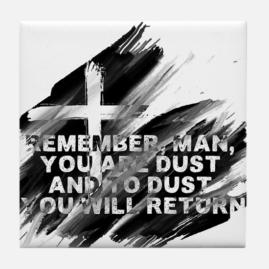 You are Dust Tile Coaster