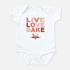 Live Love Bake Onesie