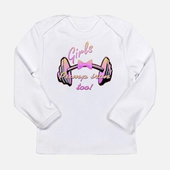 Cute Womens fitness Long Sleeve Infant T-Shirt