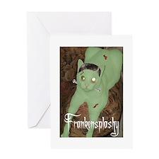 Frankensplashy Greeting Card