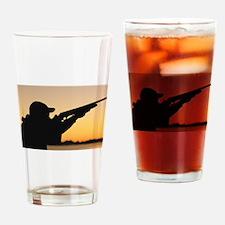 hunting Drinking Glass
