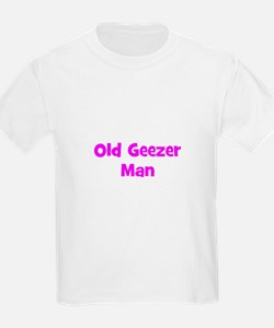 Old Geezer Man T-Shirt