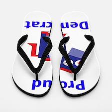 Proud Democrat Flip Flops