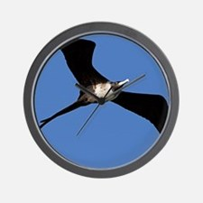 Lady in Flight Wall Clock