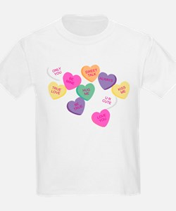 Funny Heart candy T-Shirt