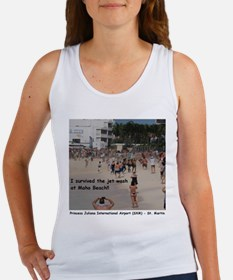 I survived the jet wash Women's Tank Top