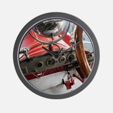 Antique Fire Engine Wall Clock