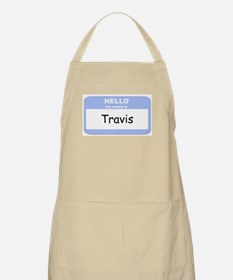 My Name is Travis BBQ Apron