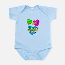 I Love Golf Infant Bodysuit