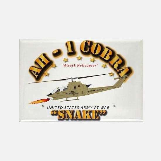 AH-1 Cobra - Snake Rectangle Magnet