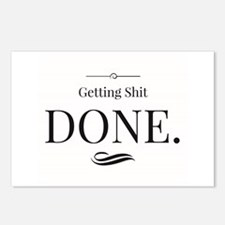 Getting Shit Done.jpg Postcards (Package of 8)