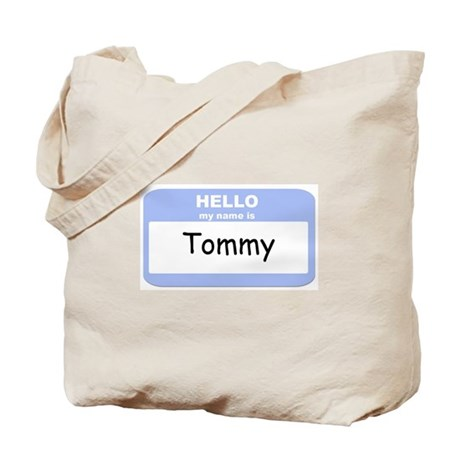 My Name is Tommy Tote Bag
