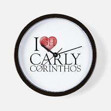 I Heart Carly Corinthos Wall Clock