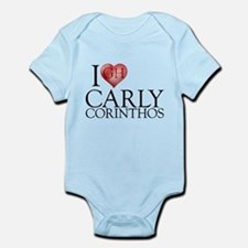 I Heart Carly Corinthos Infant Bodysuit