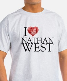 I Heart Nathan West T-Shirt