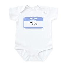 My Name is Toby Infant Bodysuit