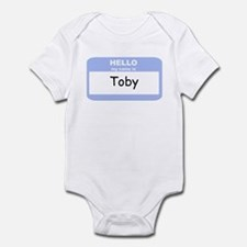 My Name is Toby Infant Bodysuit