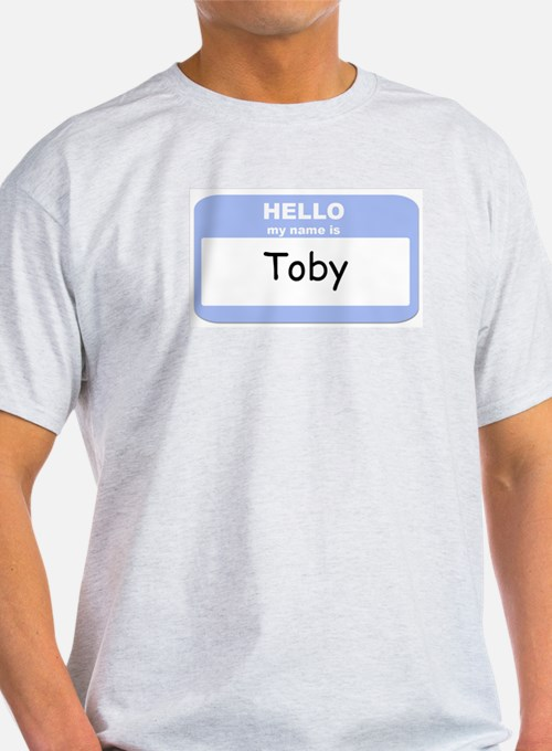 My Name is Toby T-Shirt
