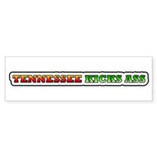 Tennessee kicks ass Bumper Bumper Sticker
