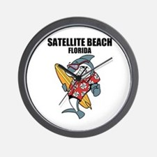Satellite Beach, Florida Wall Clock