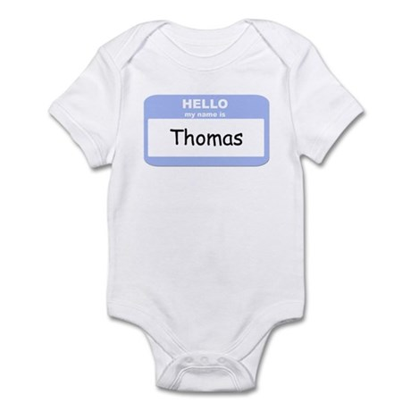 My Name is Thomas Infant Bodysuit
