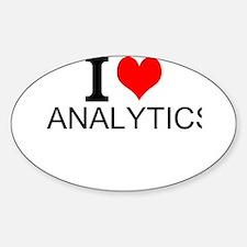 I Love Analytics Decal
