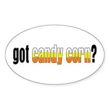 Got Candy Corn? Oval Decal