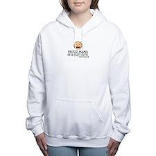 Cute Cleft Women's Hooded Sweatshirt