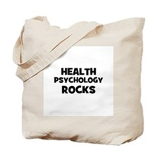 Health Psychology Rocks Tote Bag