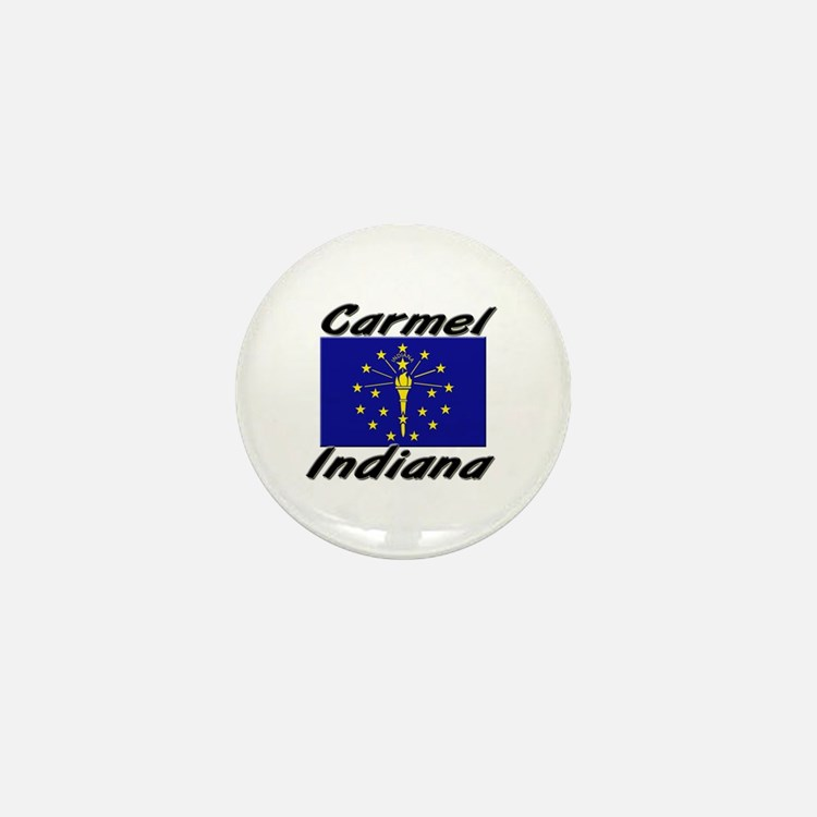 Carmel Indiana Mini Button