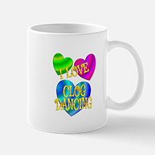 I Love Clog Dancing Mug