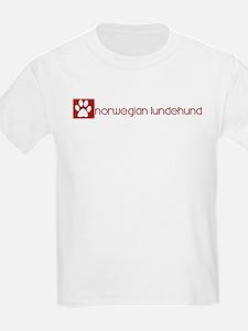 Norwegian Lundehund (dog paw  T-Shirt