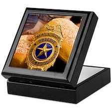 Unique Police dog badge Keepsake Box