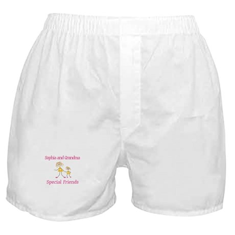 Sophia & Grandma - Friends Boxer Shorts