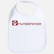 Munsterlander (dog paw red) Bib