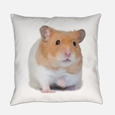 Chunk the Hamster Front.png Everyday Pillow