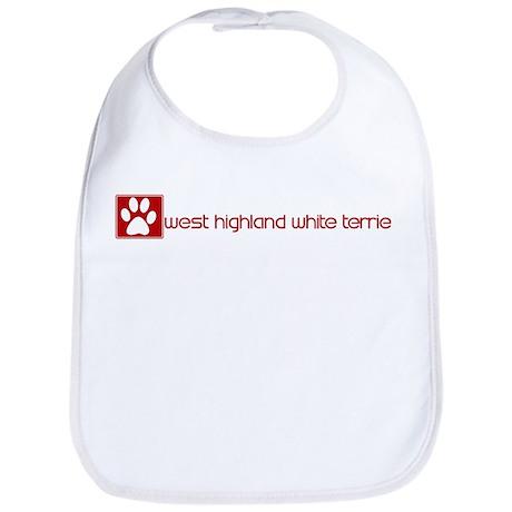 West Highland White Terrier ( Bib