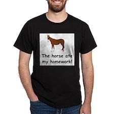 Cute Funny horse riding T-Shirt