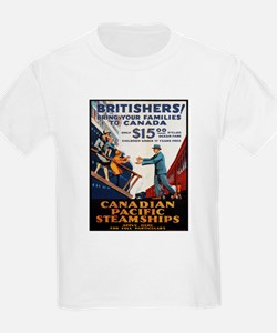 Vintage poster - Canadian Pacific T-Shirt