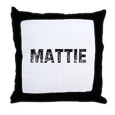 Mattie Throw Pillow