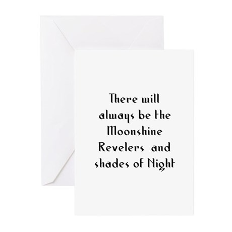 There will always be the Moon Greeting Cards (Pk o