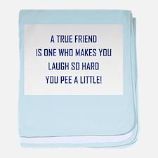 A TRUE FRIEND... baby blanket