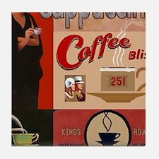 Cute Vintage advertisement Tile Coaster