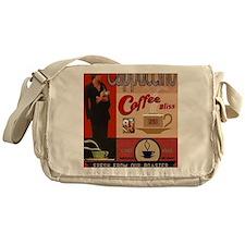 Cute Coffee roaster Messenger Bag