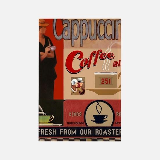 Unique Coffee vintage Rectangle Magnet