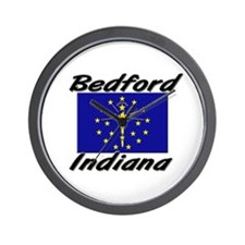 Bedford Indiana Wall Clock