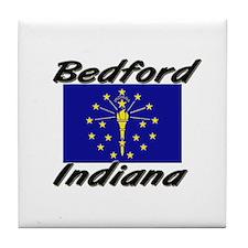 Bedford Indiana Tile Coaster